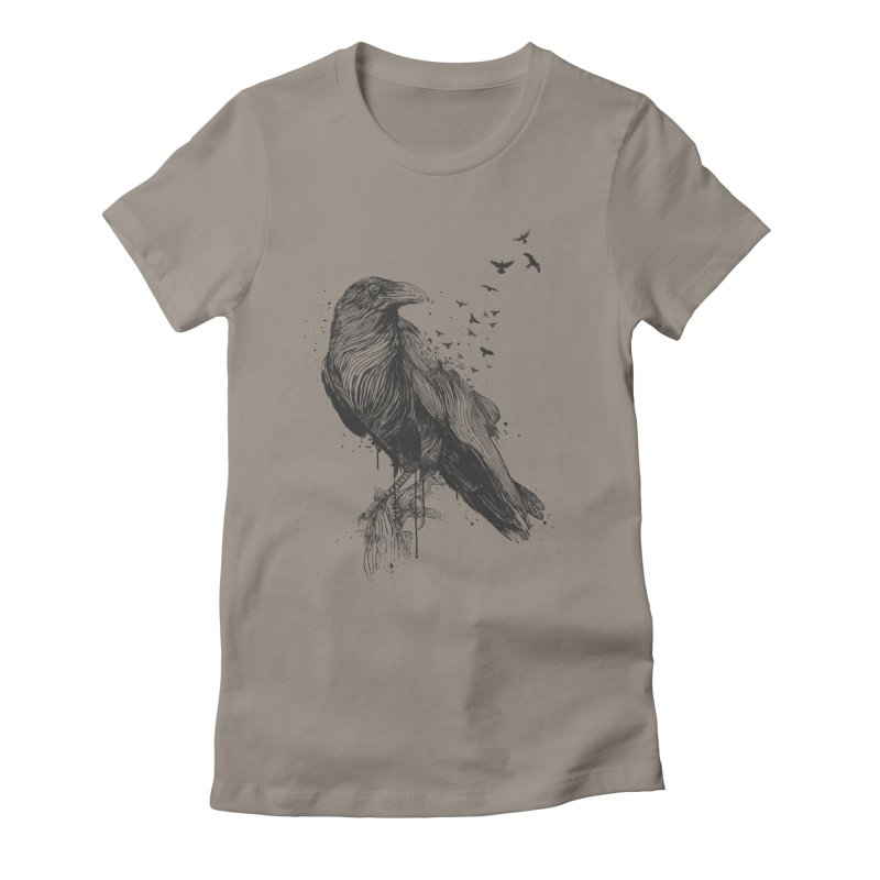 Born to be free Women's T-Shirt by Balazs Solti