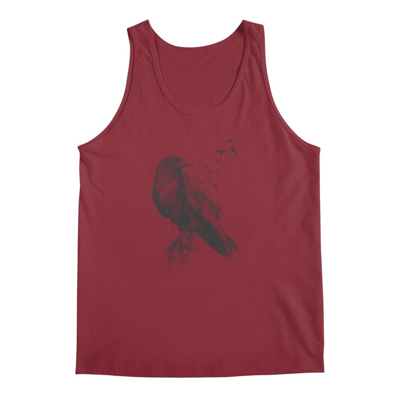 Born to be free Men's Tank by Balazs Solti