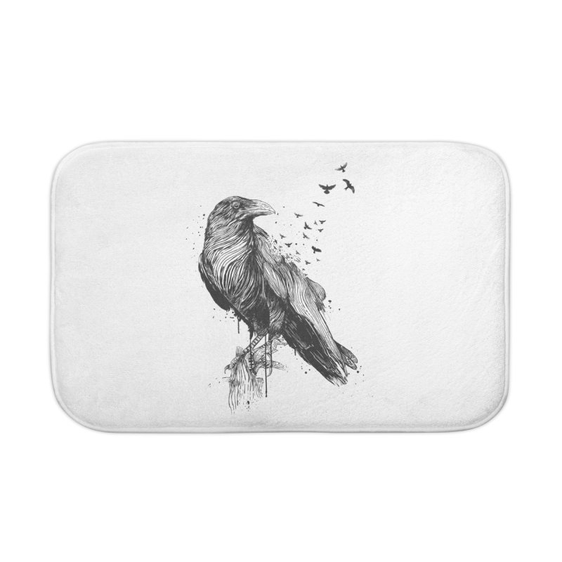 Born to be free Home Bath Mat by Balazs Solti