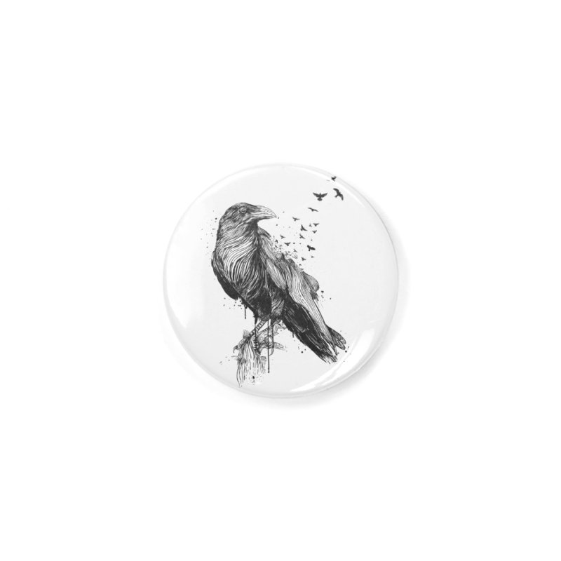 Born to be free Accessories Button by Balazs Solti