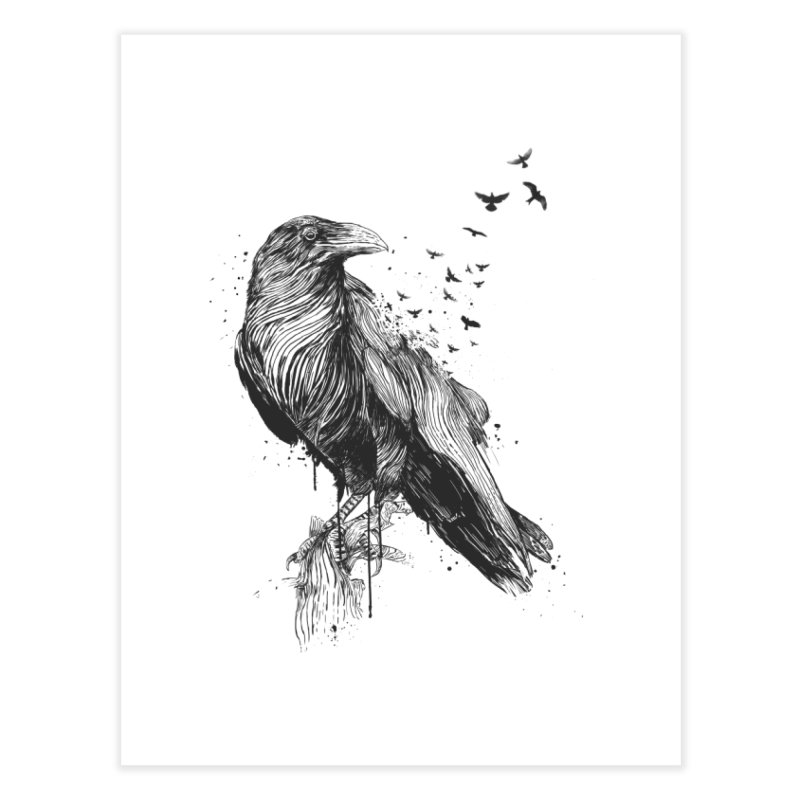 Born to be free Home Fine Art Print by Balazs Solti