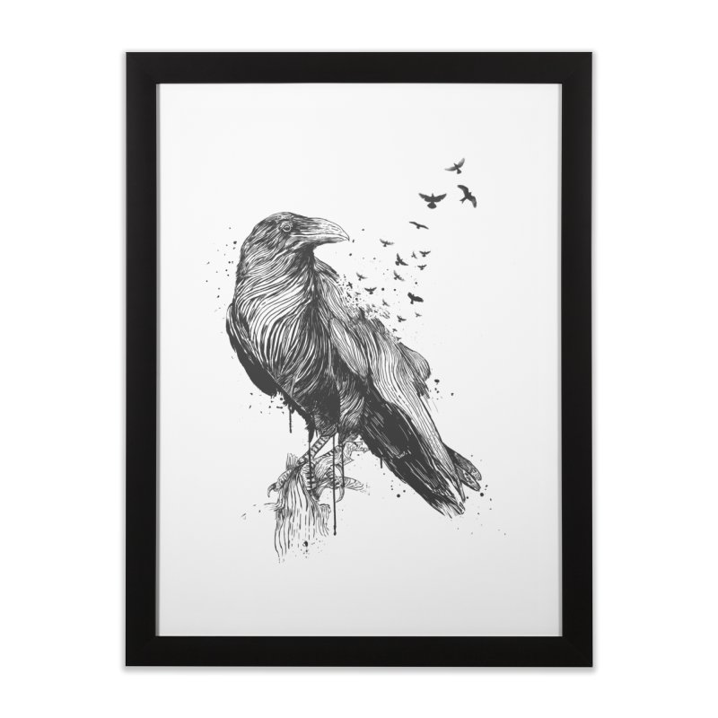Born to be free Home Framed Fine Art Print by Balazs Solti