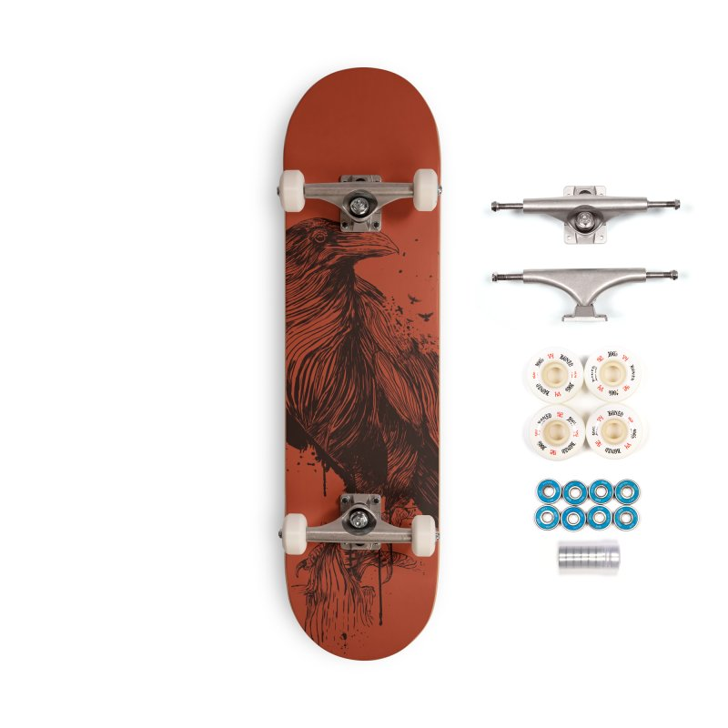 Born to be free Accessories Skateboard by Balazs Solti
