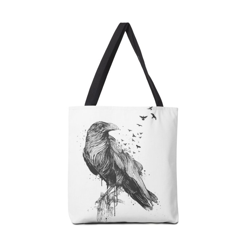 Born to be free Accessories Tote Bag Bag by Balazs Solti