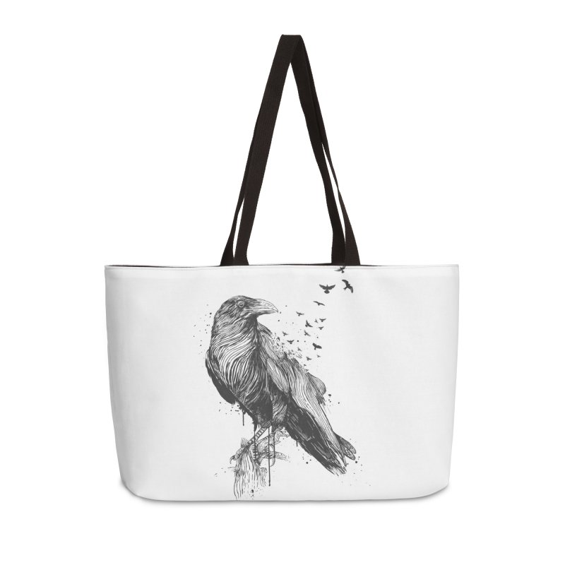 Born to be free Accessories Weekender Bag Bag by Balazs Solti