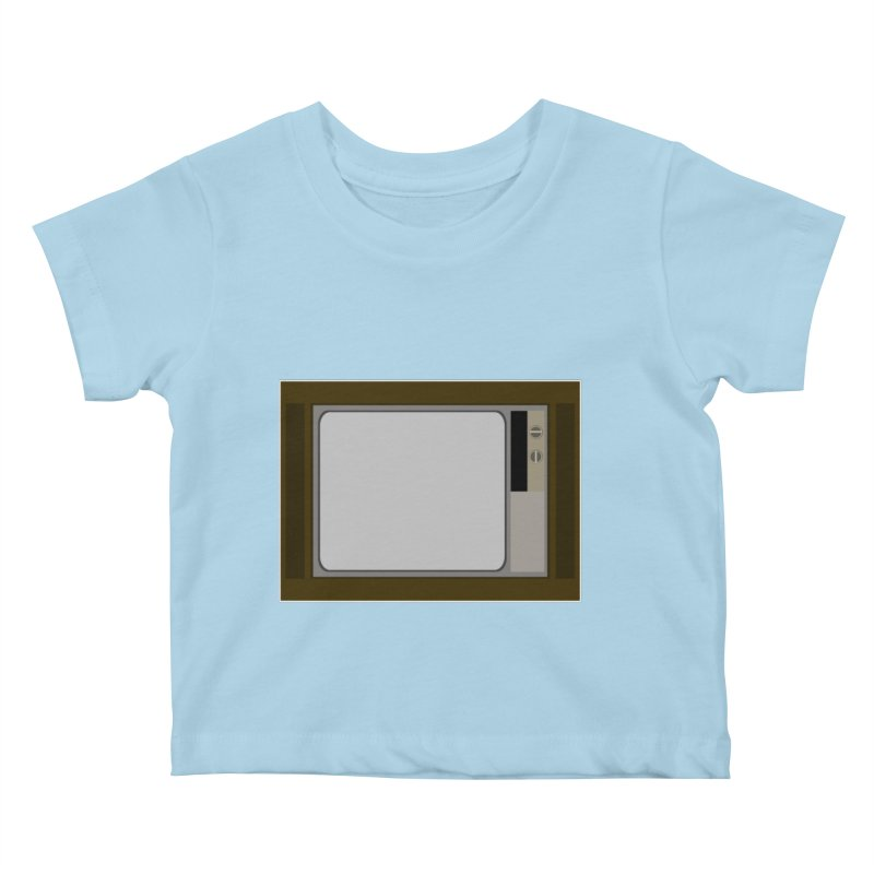 A little bit of the 60s. Kids Baby T-Shirt by some art worker