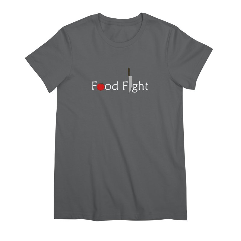 Food Fight. Women's T-Shirt by some art worker