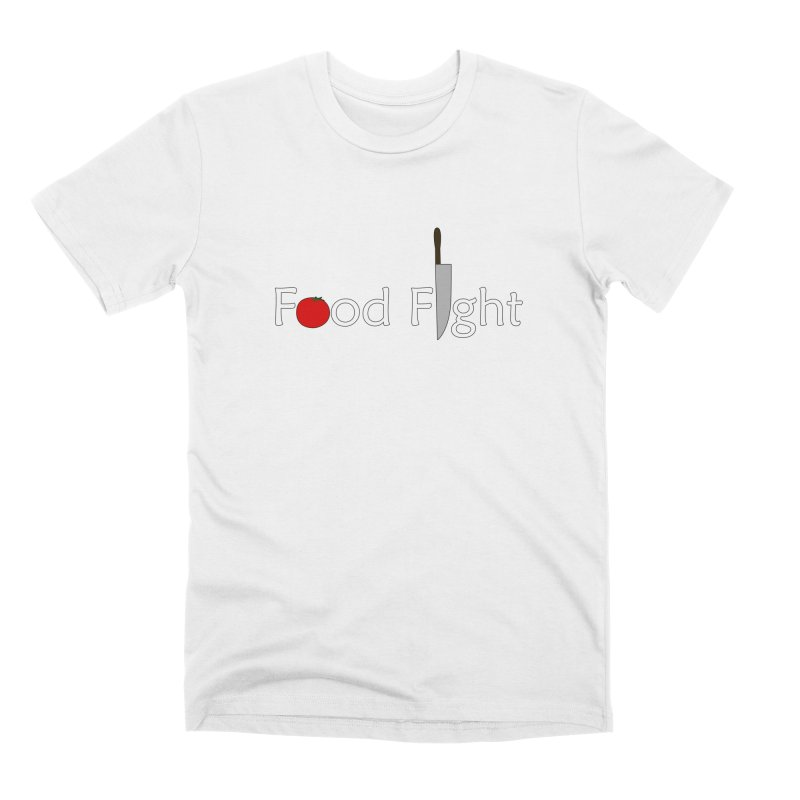 Food Fight. Men's Premium T-Shirt by some art worker