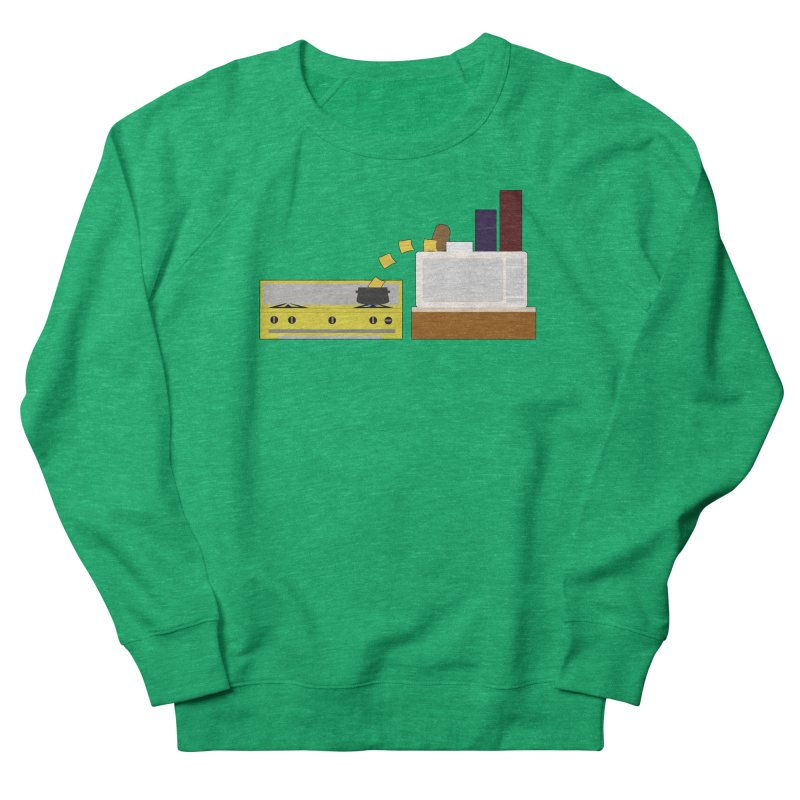 Food Fight - Potato vs Cheese. Men's French Terry Sweatshirt by some art worker