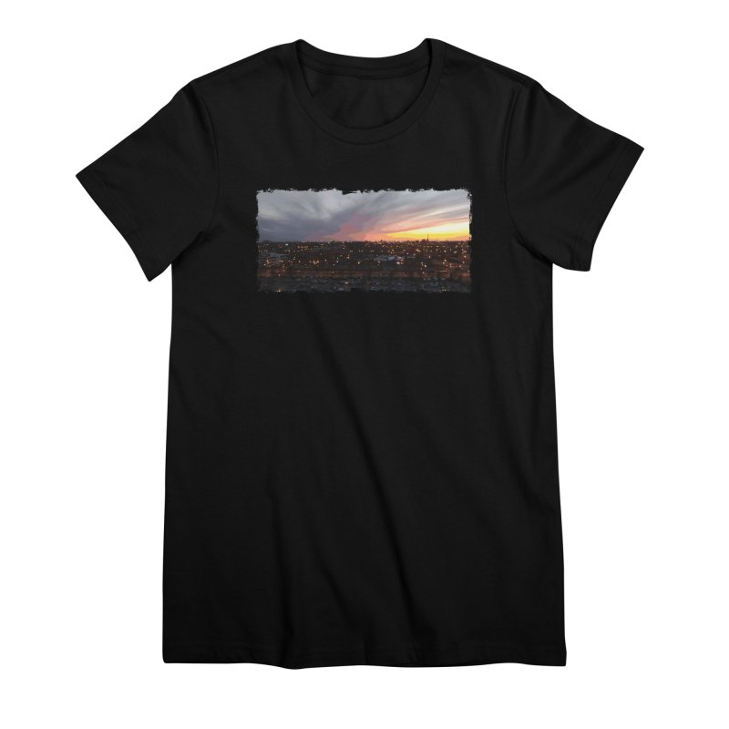 Sunset - April 6, 2018 7:34PM. Women's Premium T-Shirt by some art worker