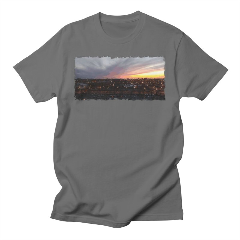 Sunset - April 6, 2018 7:34PM. Men's T-Shirt by some art worker