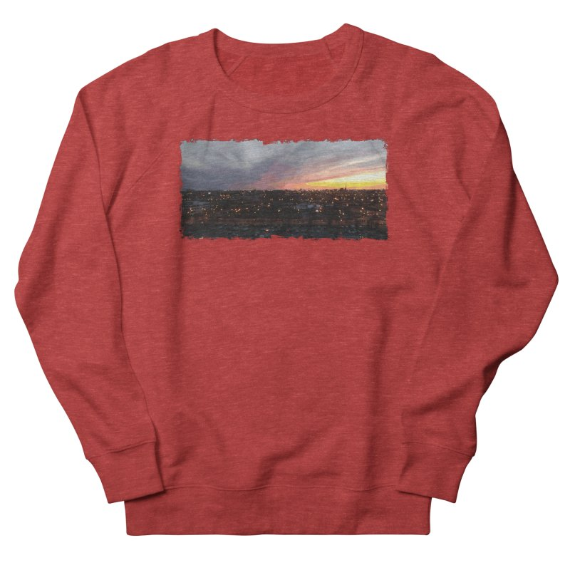 Sunset - April 6, 2018 7:34PM. Men's French Terry Sweatshirt by some art worker