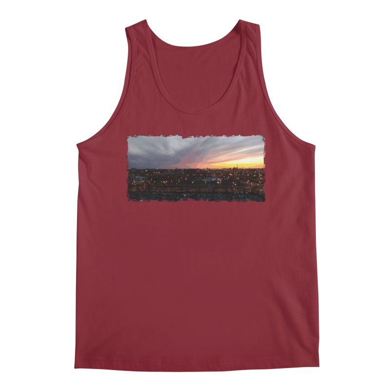 Sunset - April 6, 2018 7:34PM. Men's Regular Tank by some art worker