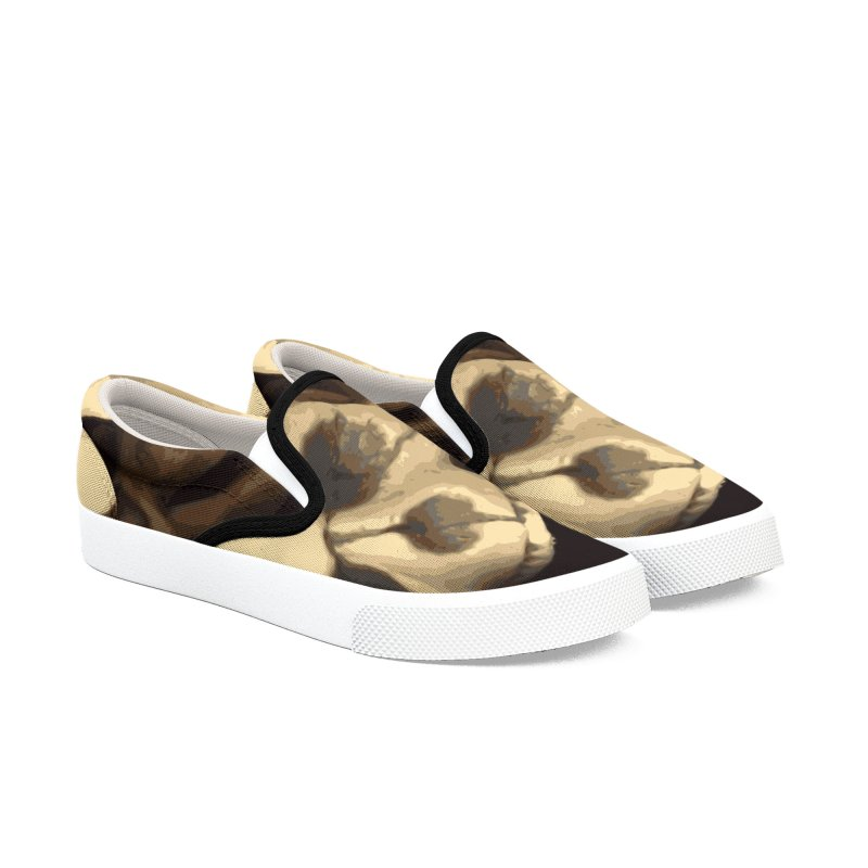 Caldron of bones. Men's Slip-On Shoes by some art worker