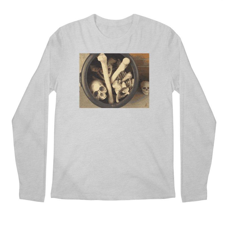 Caldron of bones. Men's Regular Longsleeve T-Shirt by some art worker