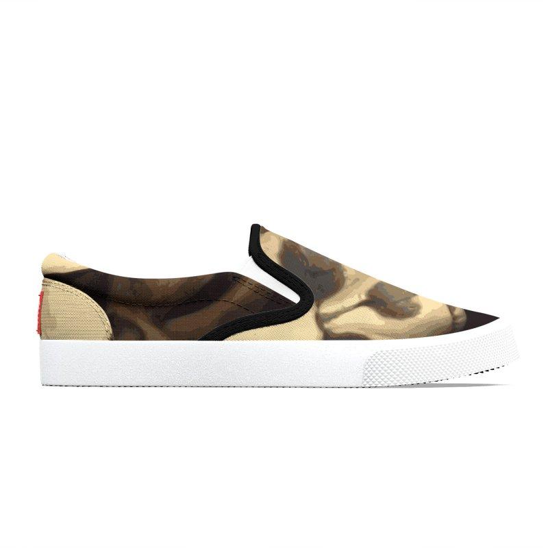 Caldron of bones. Men's Shoes by some art worker