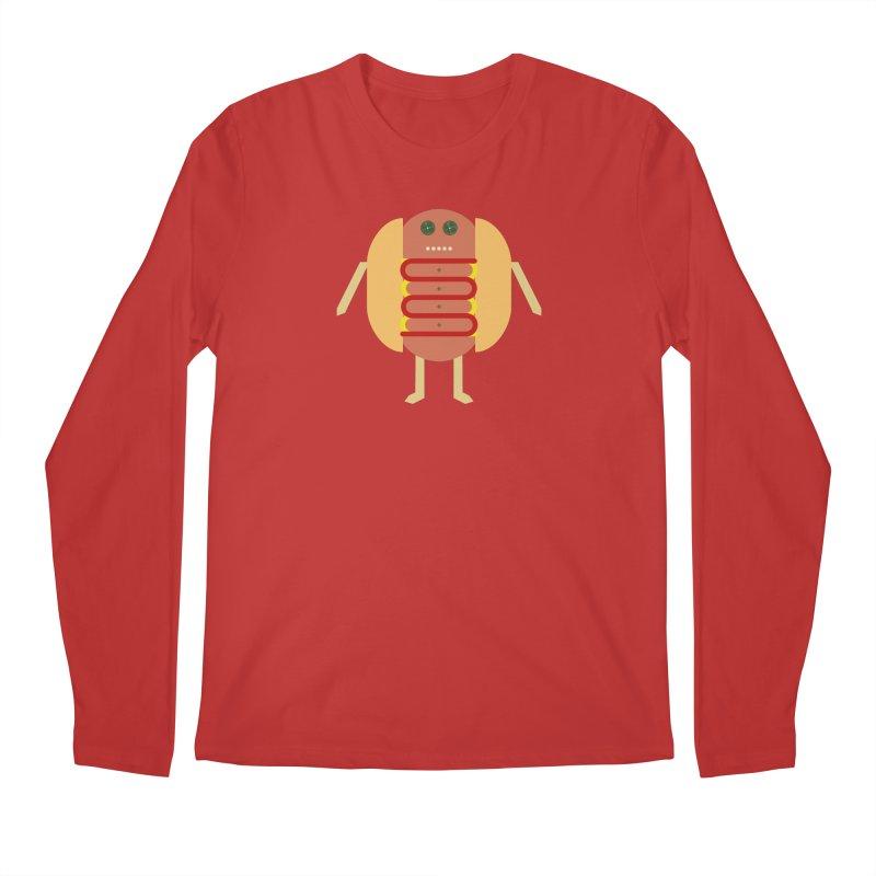 Stubby Lil Weenie Men's Regular Longsleeve T-Shirt by some art worker