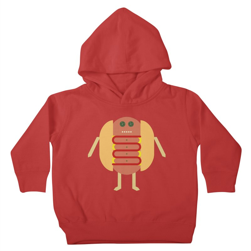 Stubby Lil Weenie Kids Toddler Pullover Hoody by some art worker