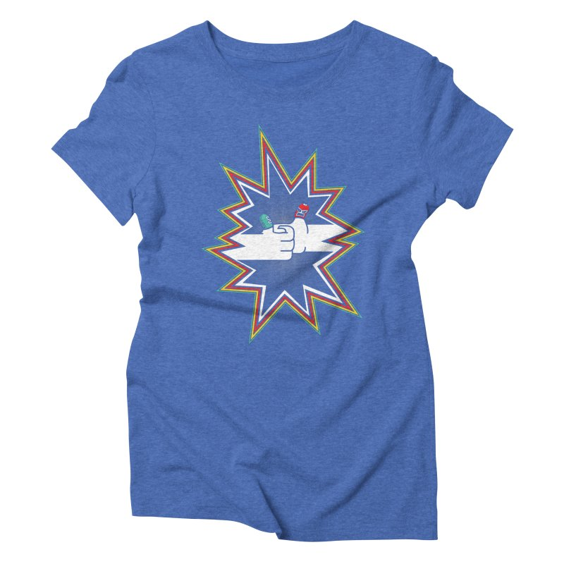 Lucha Del Pulgar Women's Triblend T-Shirt by I Like Me