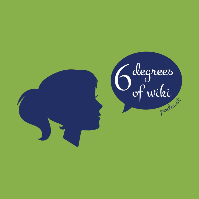 6 Degrees of Wiki podcast (blue logo) by 6 Degrees of Wiki podcast