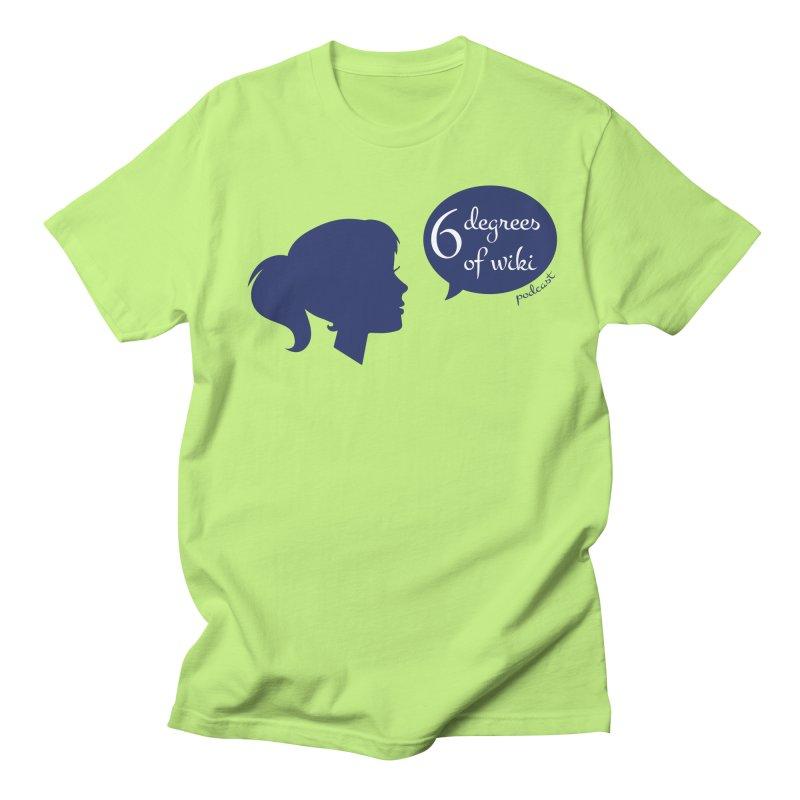 6 Degrees of Wiki podcast (blue logo) Women's Regular Unisex T-Shirt by 6 Degrees of Wiki podcast