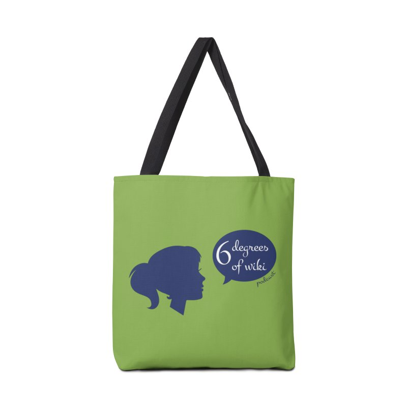 6 Degrees of Wiki podcast (blue logo) Accessories Tote Bag Bag by 6 Degrees of Wiki podcast