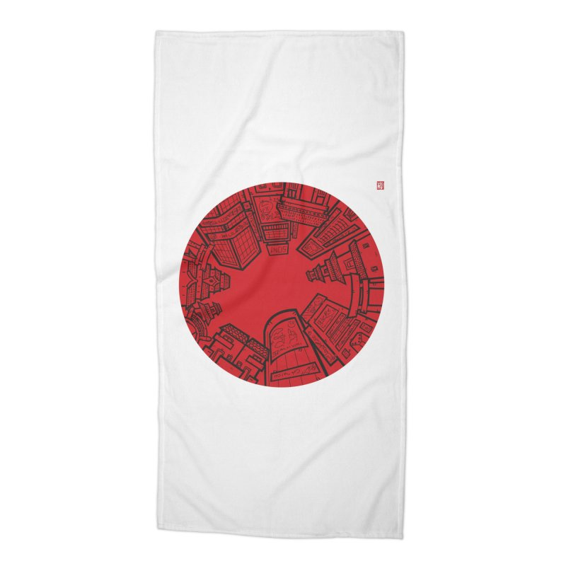 JAPAN Accessories Beach Towel by SOMEWHERE by Tiago f Moura