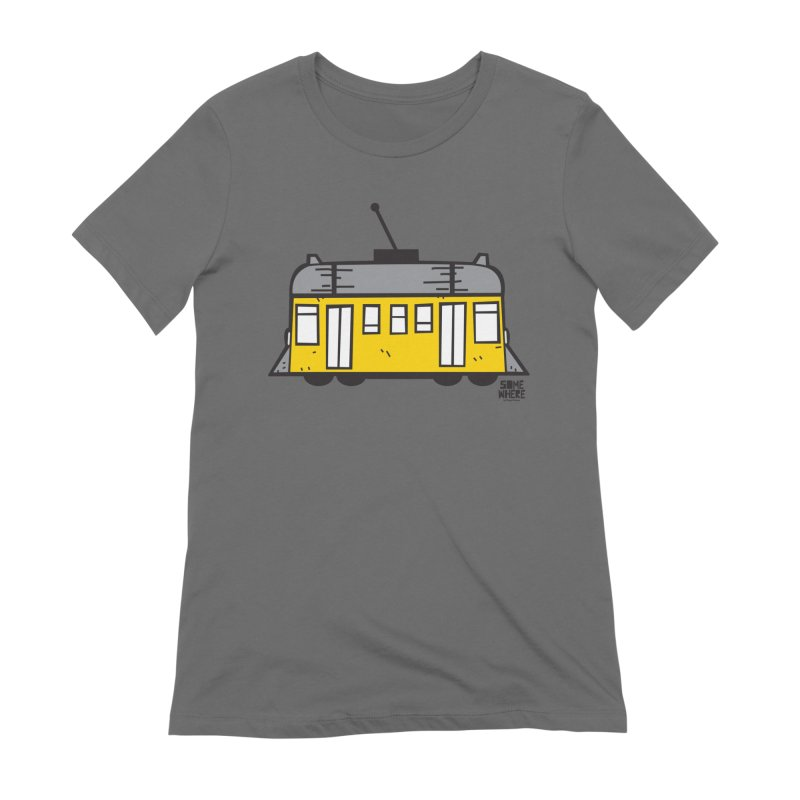 LISBON TRAM Women's T-Shirt by SOMEWHERE by Tiago f Moura