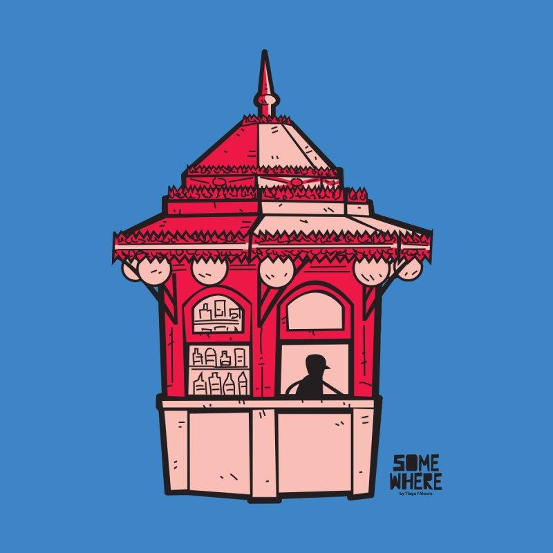 LISBON KIOSK CAFE Women's T-Shirt by SOMEWHERE by Tiago f Moura