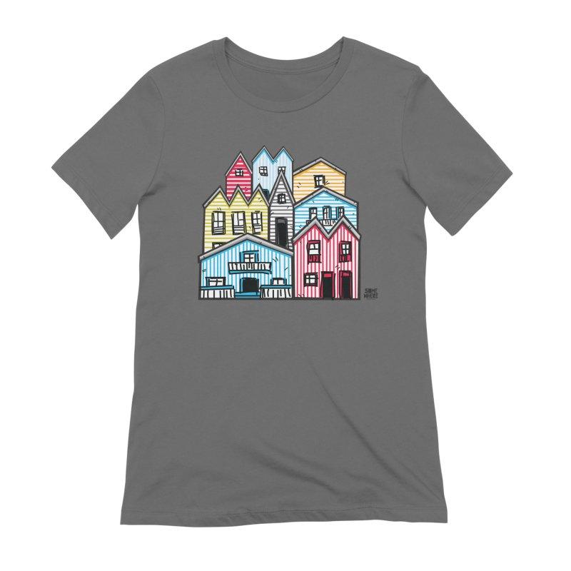 COSTA NOVA - AVEIRO Women's T-Shirt by SOMEWHERE by Tiago f Moura