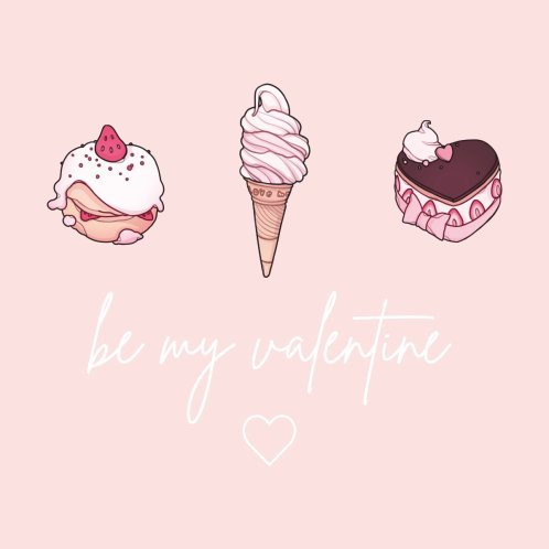 Design for be my valentine