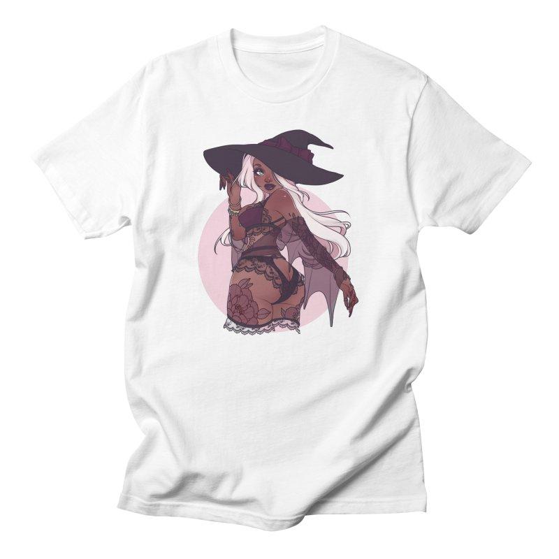 Lingerie Witch Men's T-Shirt by Sonia Stegemann Illustration