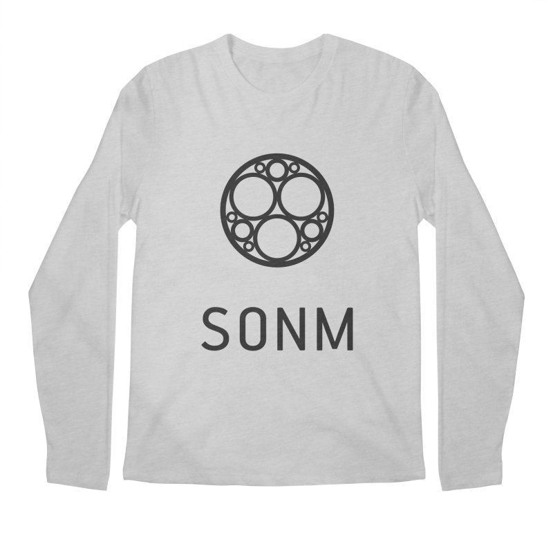 LOGO big Men's Regular Longsleeve T-Shirt by SONM E-Shop