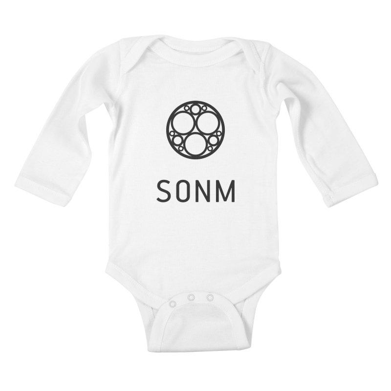 LOGO big Kids Baby Longsleeve Bodysuit by SONM E-Shop