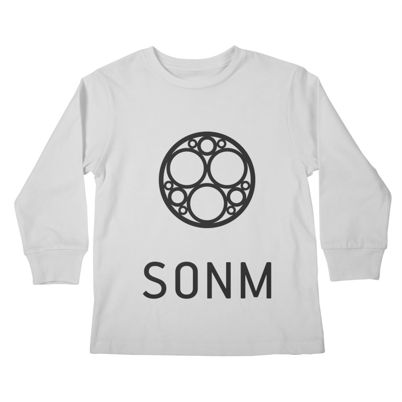 LOGO big Kids Longsleeve T-Shirt by SONM E-Shop