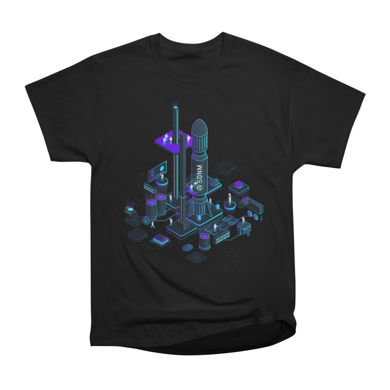 ROCKET Men's Heavyweight T-Shirt by SONM E-Shop