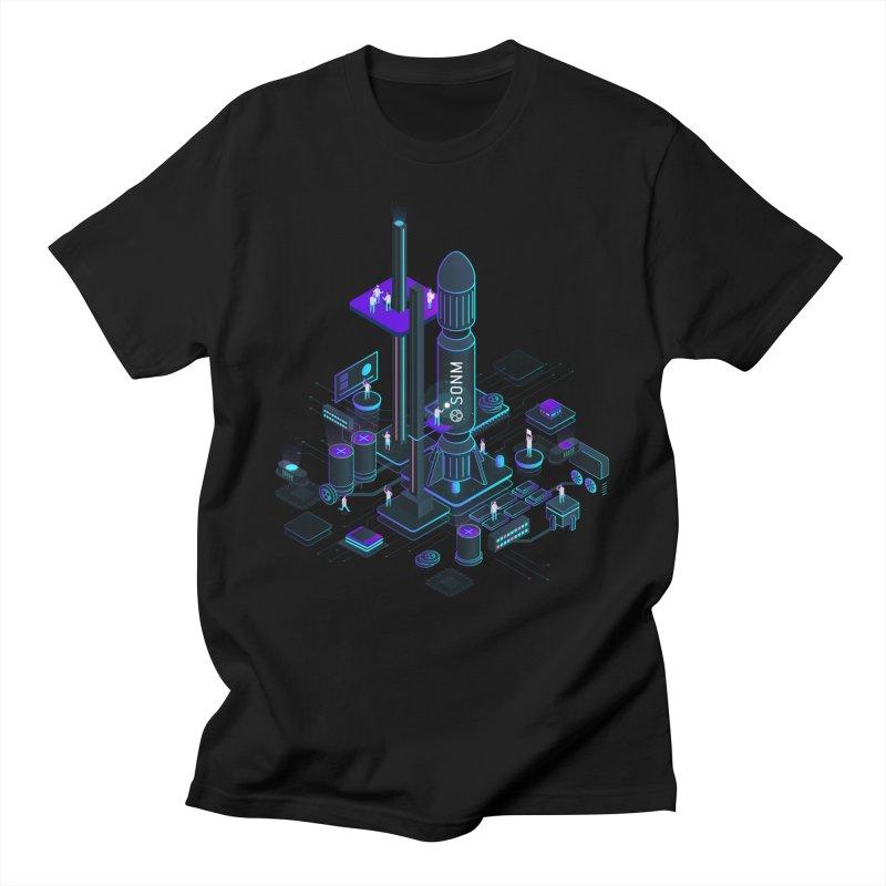 ROCKET Men's Regular T-Shirt by SONM E-Shop