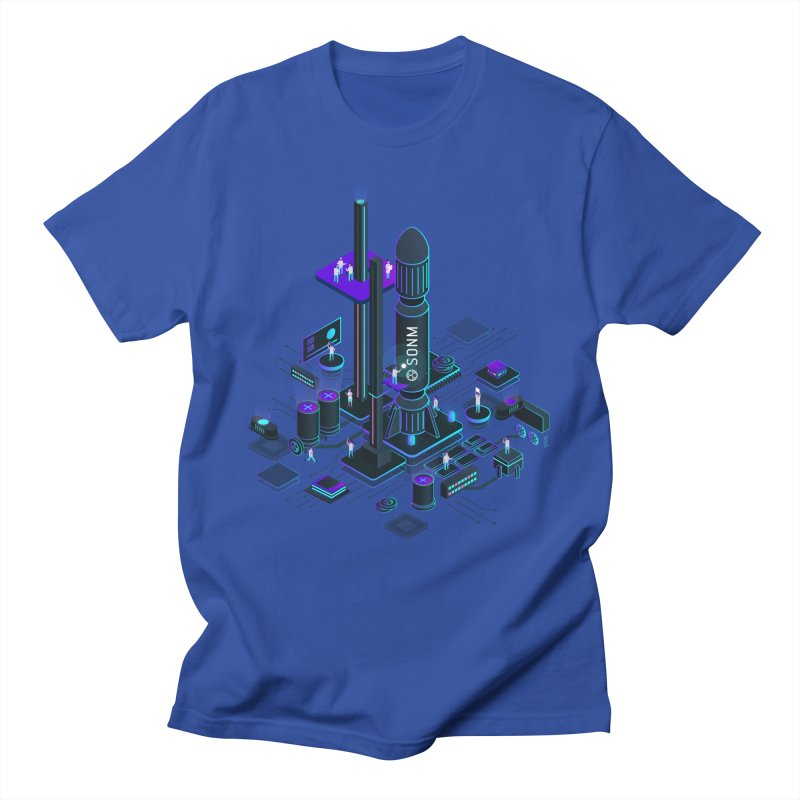 ROCKET Women's Regular Unisex T-Shirt by SONM E-Shop