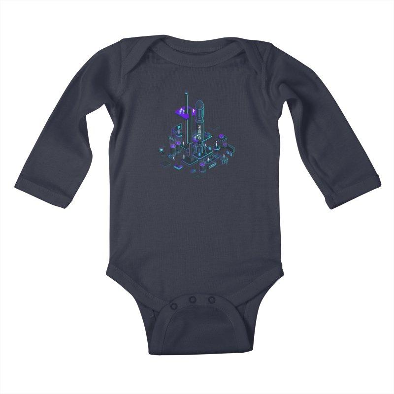ROCKET Kids Baby Longsleeve Bodysuit by SONM E-Shop