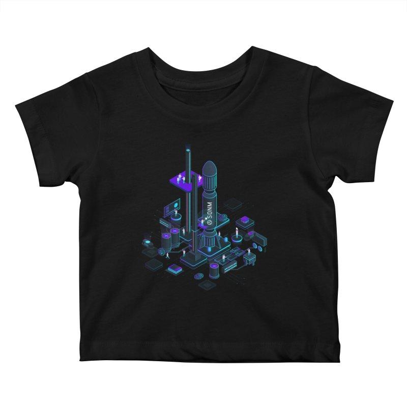 ROCKET Kids Baby T-Shirt by SONM E-Shop