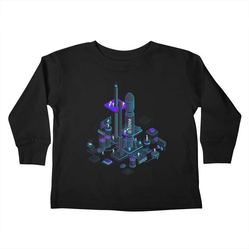 ROCKET Kids Toddler Longsleeve T-Shirt by SONM E-Shop