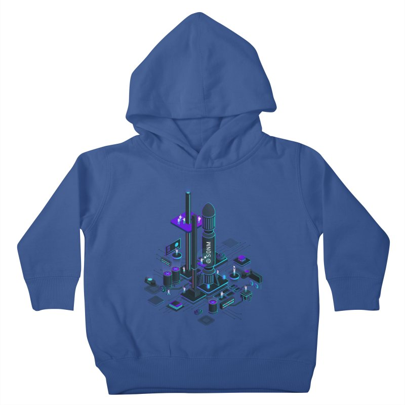 ROCKET Kids Toddler Pullover Hoody by SONM E-Shop