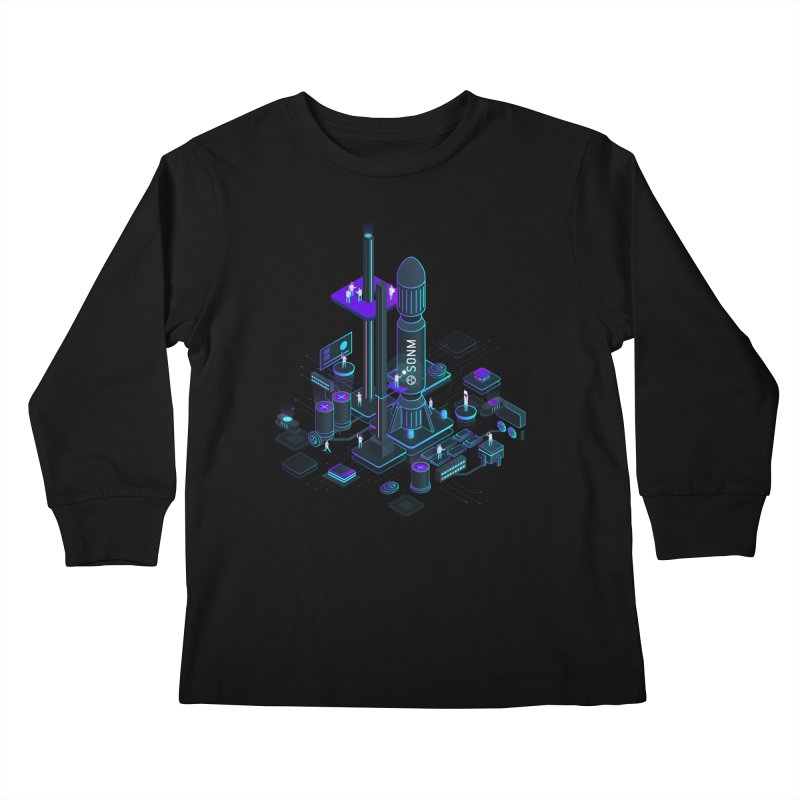 ROCKET Kids Longsleeve T-Shirt by SONM E-Shop