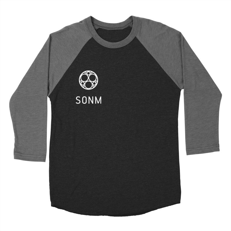 LOGO small Men's Baseball Triblend Longsleeve T-Shirt by SONM E-Shop