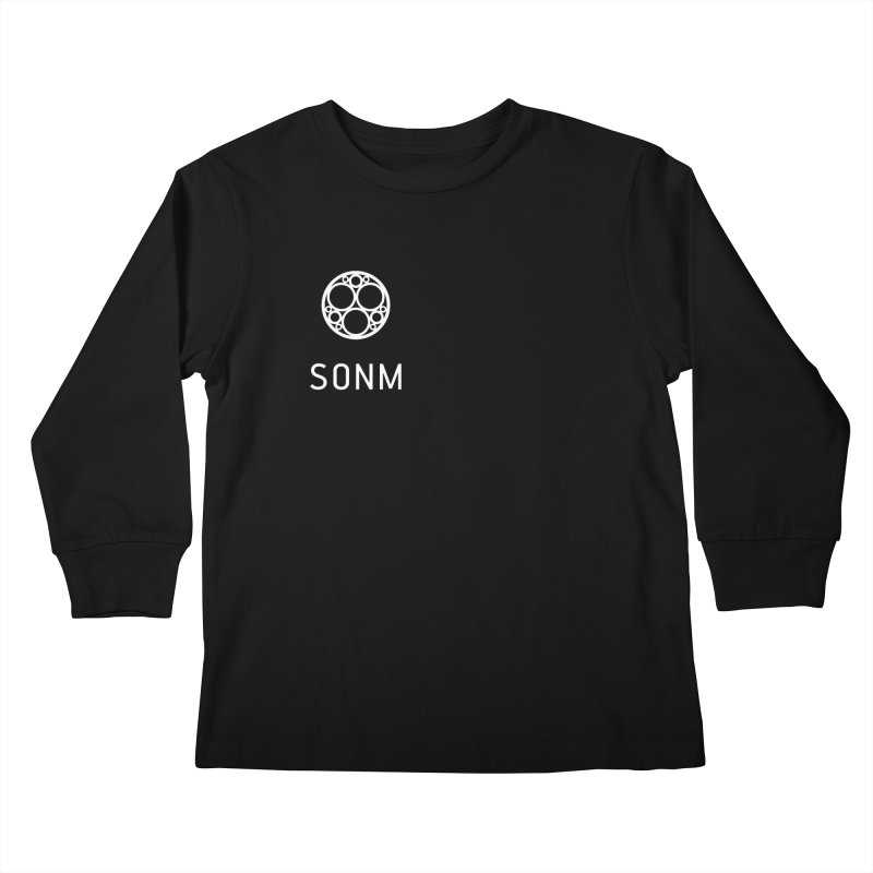 LOGO small Kids Longsleeve T-Shirt by SONM E-Shop