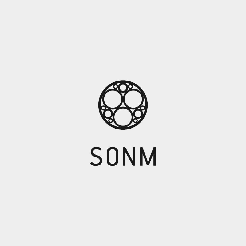 LOGO small Men's T-Shirt by SONM E-Shop