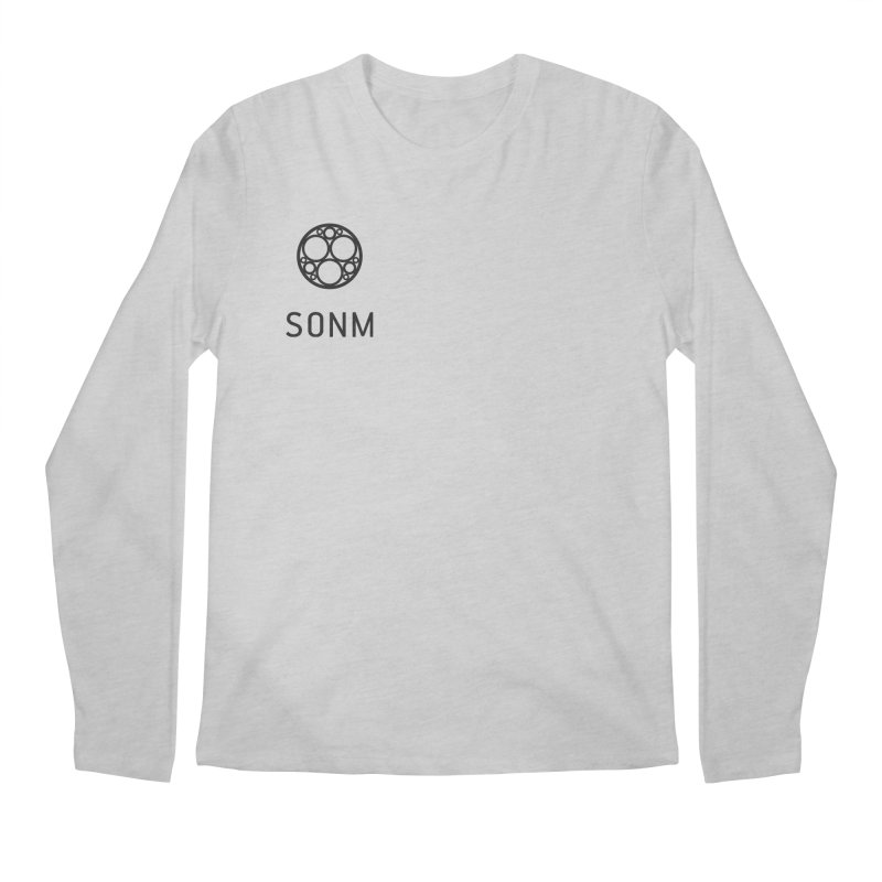LOGO small Men's Regular Longsleeve T-Shirt by SONM E-Shop