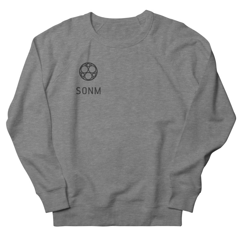 LOGO small Men's French Terry Sweatshirt by SONM E-Shop