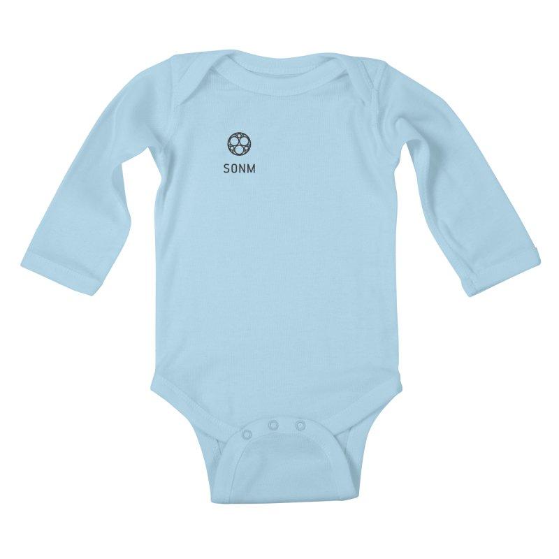 LOGO small Kids Baby Longsleeve Bodysuit by SONM E-Shop