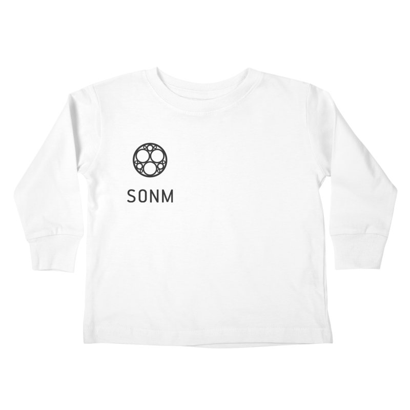 LOGO small Kids Toddler Longsleeve T-Shirt by SONM E-Shop